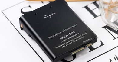 Cayin released E01 and E02 audio cards for the N6 MK2 Hi-Fi player