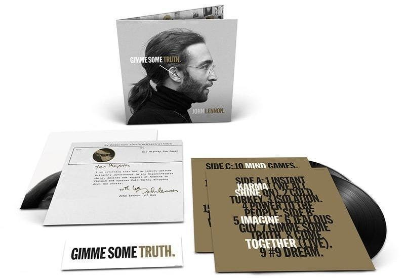 """John Lennon 80th Anniversary Compilation """"Gimme Some Truth"""" Coming On Vinyl, CD & Blu-ray"""