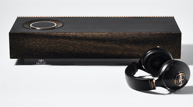 Bentley, Focal and Naim unveil special editions of Radiance headphones and Mu-so music system