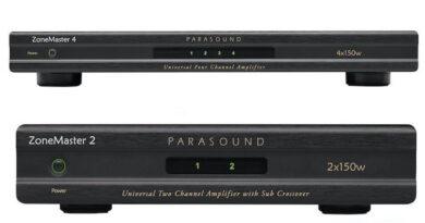 Parasound ZM2 ZM4