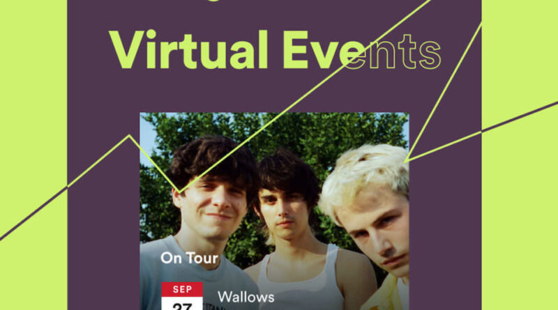 Spotify adds virtual concert poster