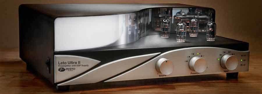Zesto Audio  Andros II, Andros Deluxe II, Leto Ultra II