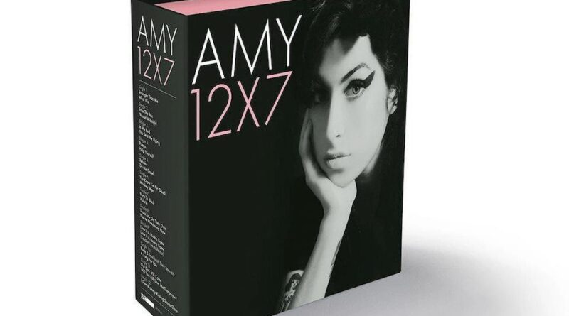 Amy Winehouse singles box set to be released on UMC/island