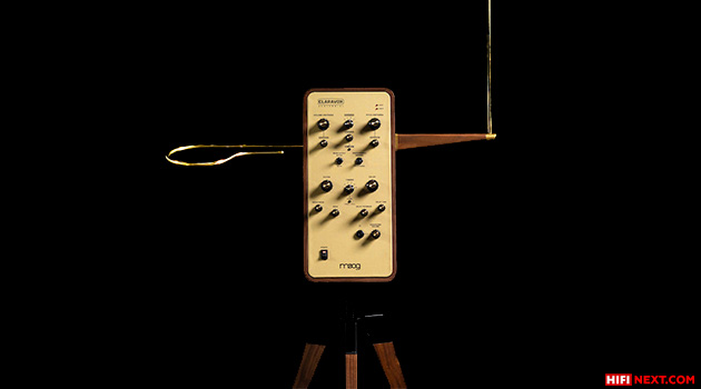 Moog has released a special version of the theremin for the machine's centenary