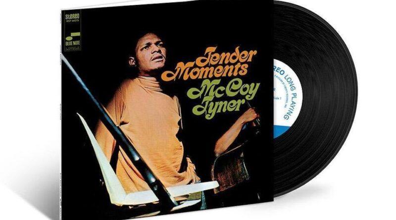 "Blue Note Records to reissue McCoy Tyner's ""Tender Moments"" album"