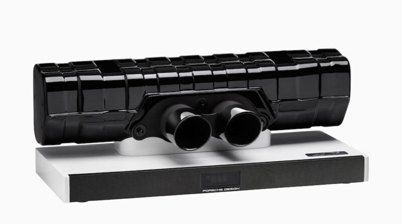Porsche Design 911 Special Edition resonator soundbar