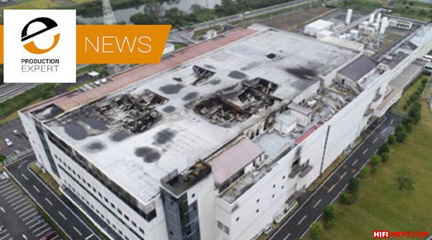 Fire at Asahi Kasei factory