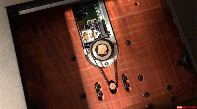 Audio Note reveals new belt drive CD transport