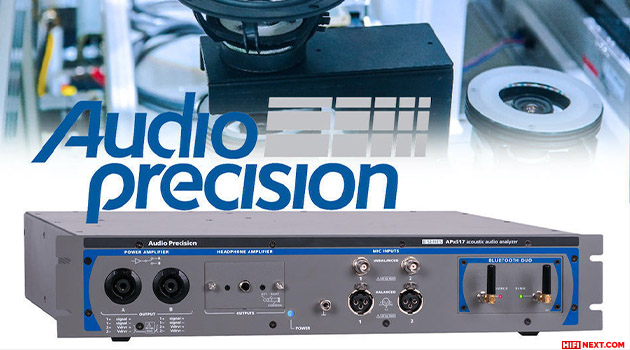 Audio Precision APx517B Acoustic Analyzer for Speakers