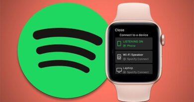 Spotify can be listened directly to Apple Watch