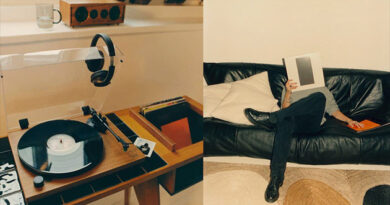 Zara Home has a line of furniture and accessories for music and vinyl lovers