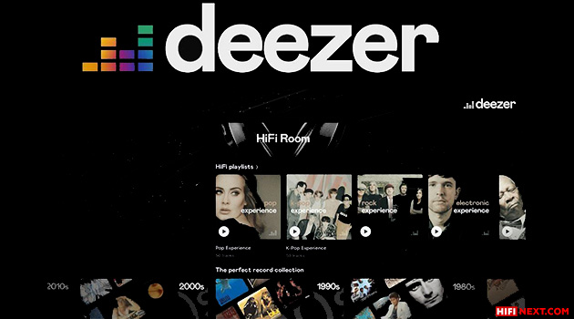 Deezer launches HiFi Room