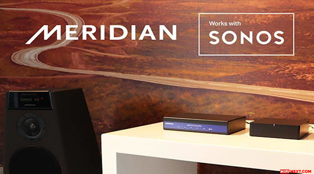 Meridian Audio products are certified Works with Sonos