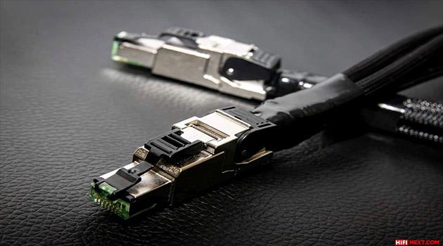 Ethernet Cable Acoustic Revive LAN-Quadrant-Triple C