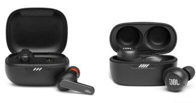 JBL TWS headphones
