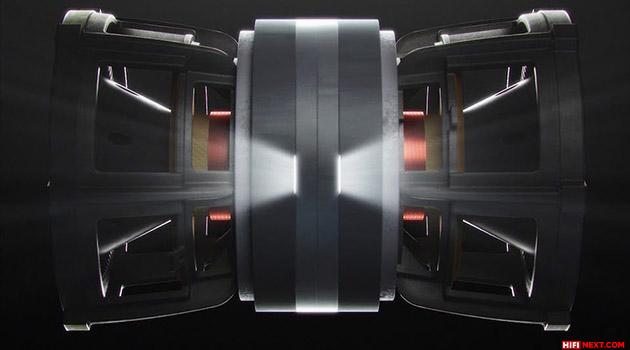 KEF Uni-Core subwoofer technology