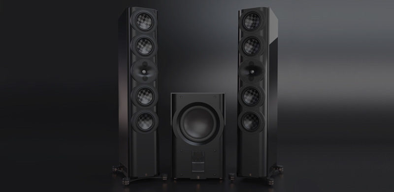 PerListen Audio S7t and D212S subwoofer