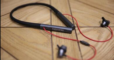 Sabinetek FinaLace Binaural Bluetooth headphones
