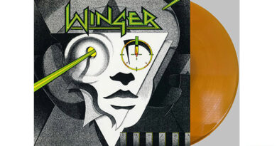 Winger - reissue of the debut album on gold vinyl