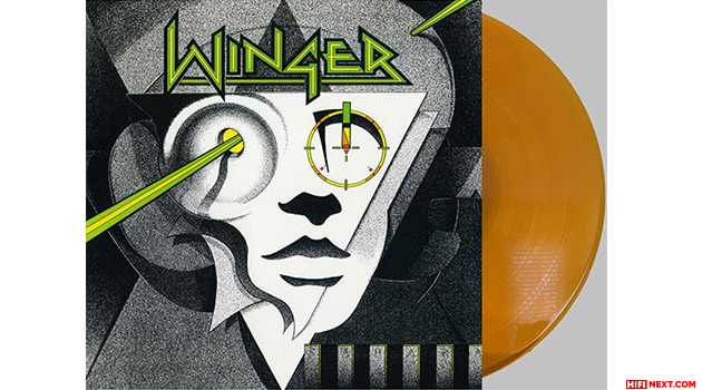 Winger - reissue of the debut album on gold vinyl