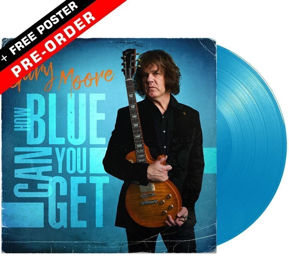"""Gary Moore compilation album """"How Blue Can You Get"""""""