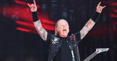 Metallica took all five top places on the Billboard Charts for vinyl sales