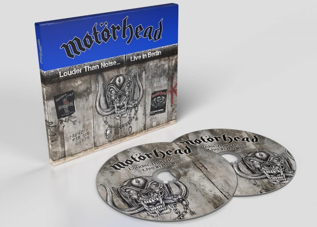 Motörhead's live album (Louder Than Noise... Live in Berlin) will be released in April_