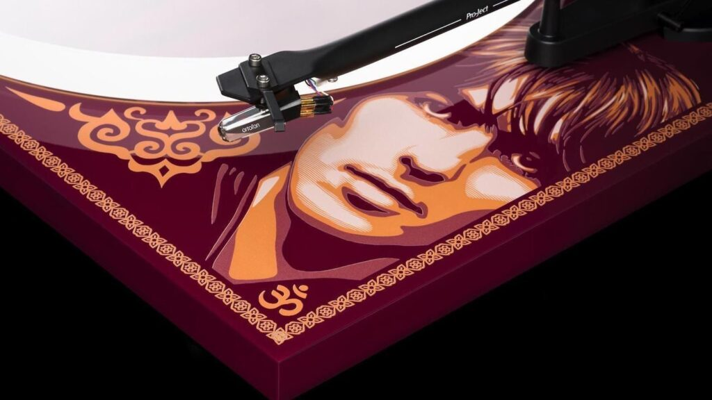 Pro-Ject Special Edition Essential III Turntable for George Harrison's 78th Birthday