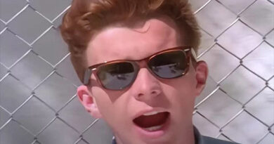 "Rick Astley's ""Never Gonna Give You Up"""