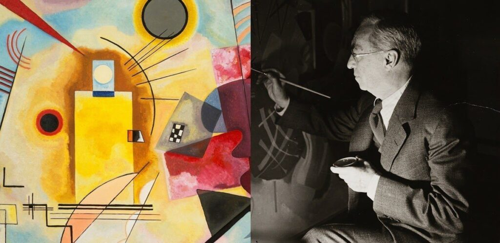 Sounds Like Kandinsky: synaesthesia in the emulator from Google on the basis of works by Kandinsky
