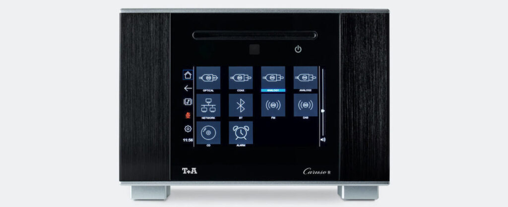 T+A Caruso R amp player and the Caruso S 10 and R 10 speakers