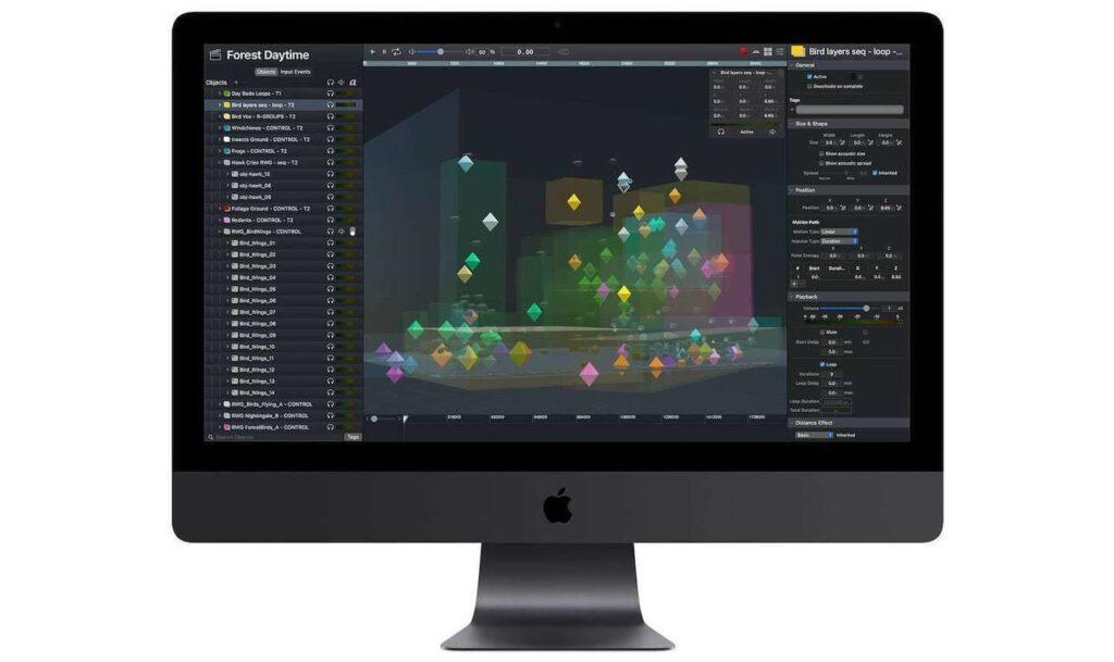 Spatial platform for creating unique 3D sound spaces