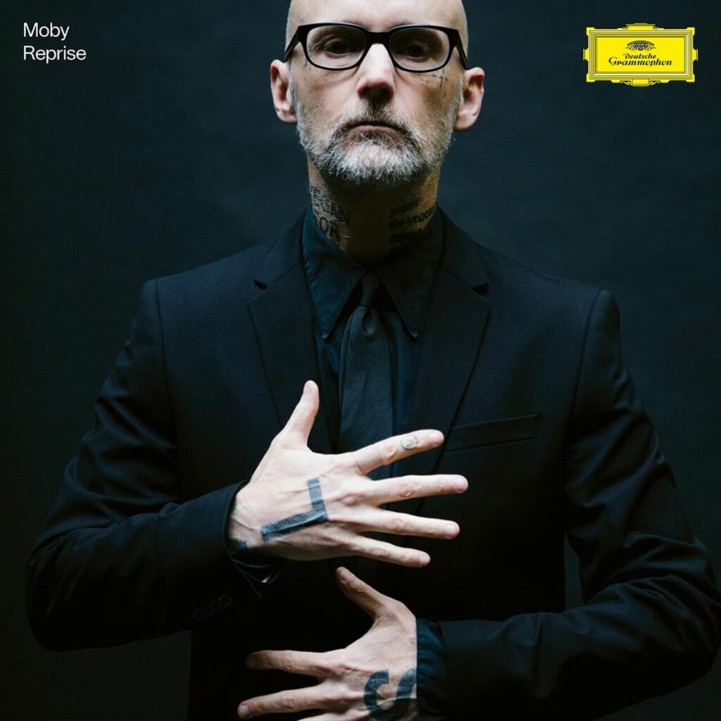 "Moby ""Reprise"" symphonic versions on double vinyl"