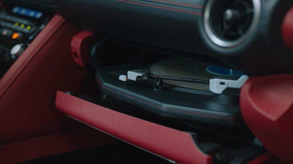 Lexus IS Wax Edition gets an audio system with a turntable
