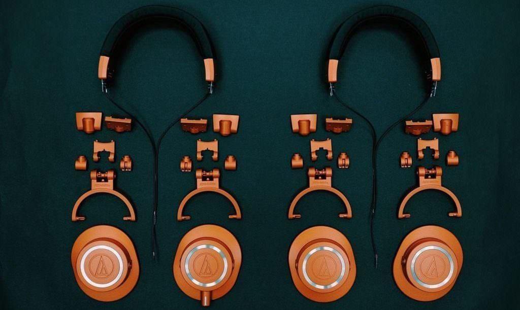 Audio-Technica ATH-M50x limited orange color