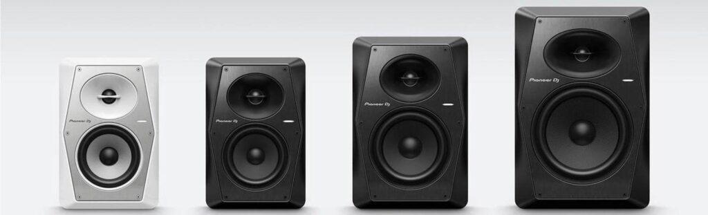 Pioneer VM-50 VM-70 and VM-80 active monitor speaker
