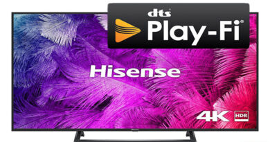 Hisense products will support DTS Play-Fi