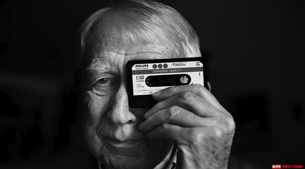 Lodewijk Ottens inventor of audio cassette and CD dies