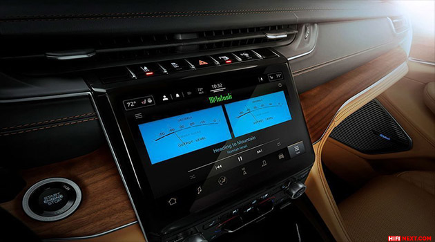 McIntosh Labs Systems Coming to Jeep Wagoneer and Grand Wagoneer SUVs Next Year and This Year