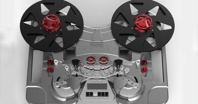 Metaxas&Sins Papillon - first photos from the production of modular reel tape recorder