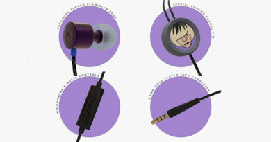 TLP1 headphones from musician Tim Burgess and Flare Audio
