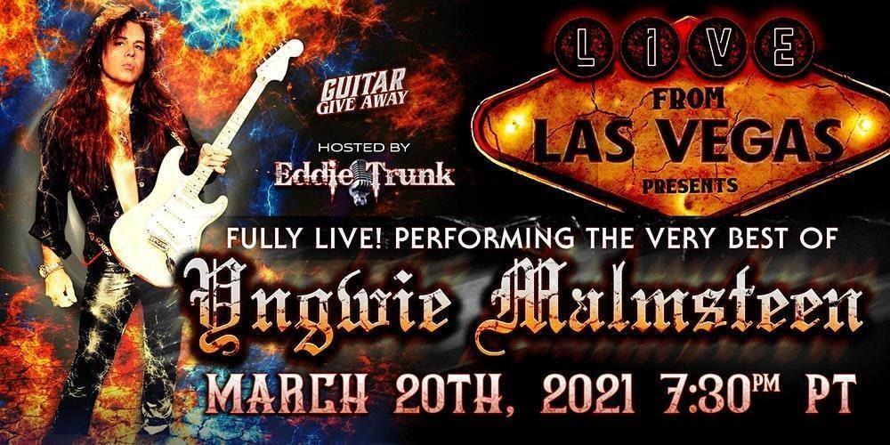 Yngwie Malmsteen concert from Las Vegas 2021