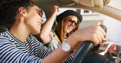 most young people can't drive without music
