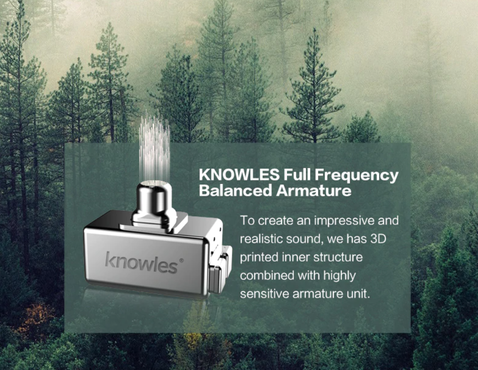 Knowles Full Frequency Balanced Armature