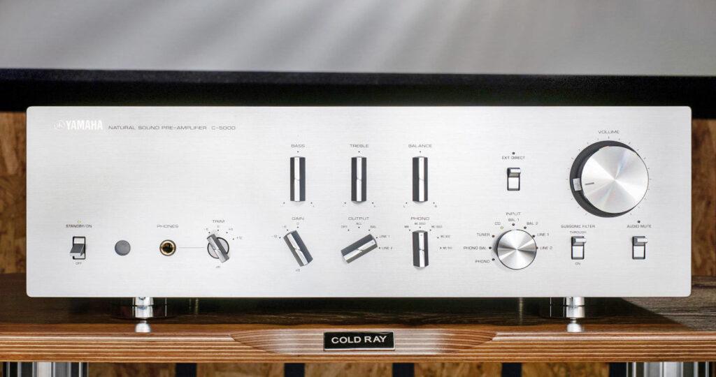 Yamaha C-5000 preamp