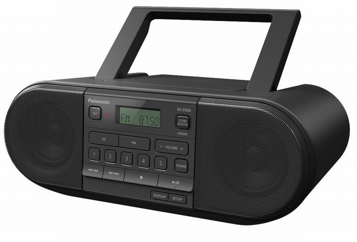 Panasonic RX new series of boomboxes