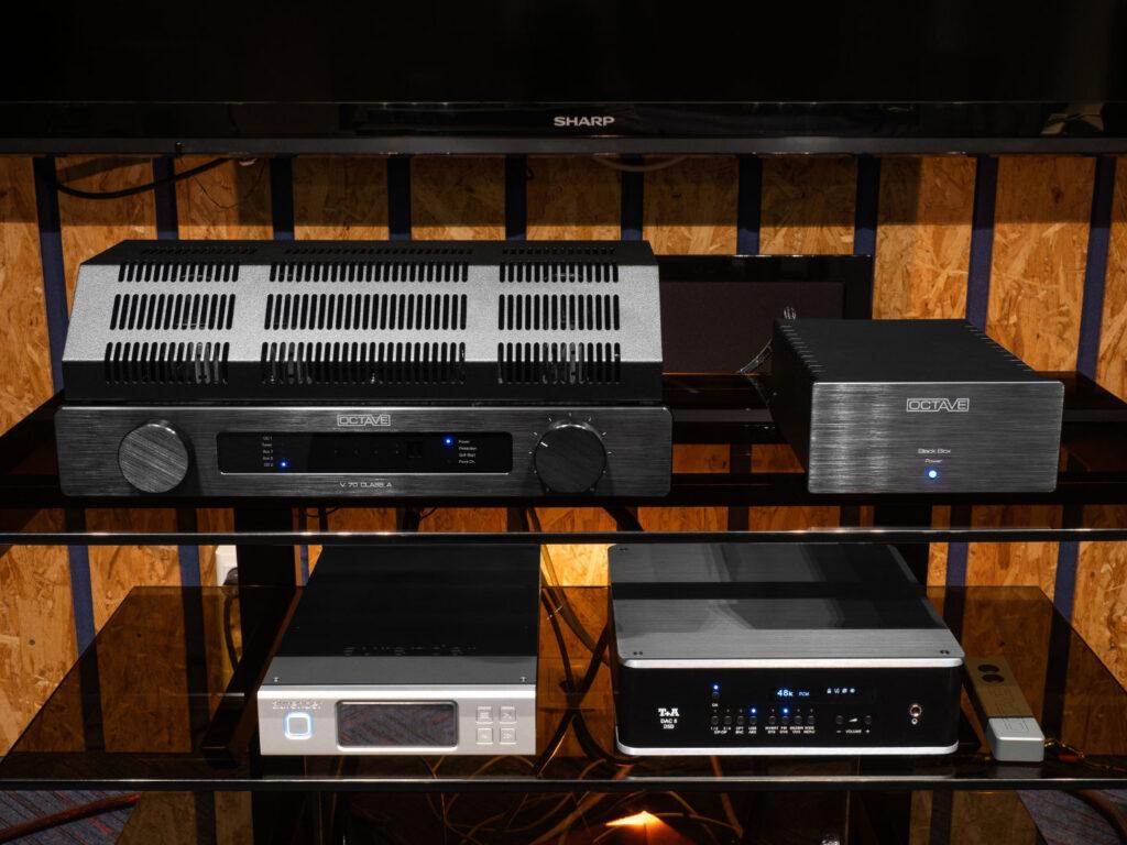 Octave V70 Class A and Octave Black Box Condenser Unit