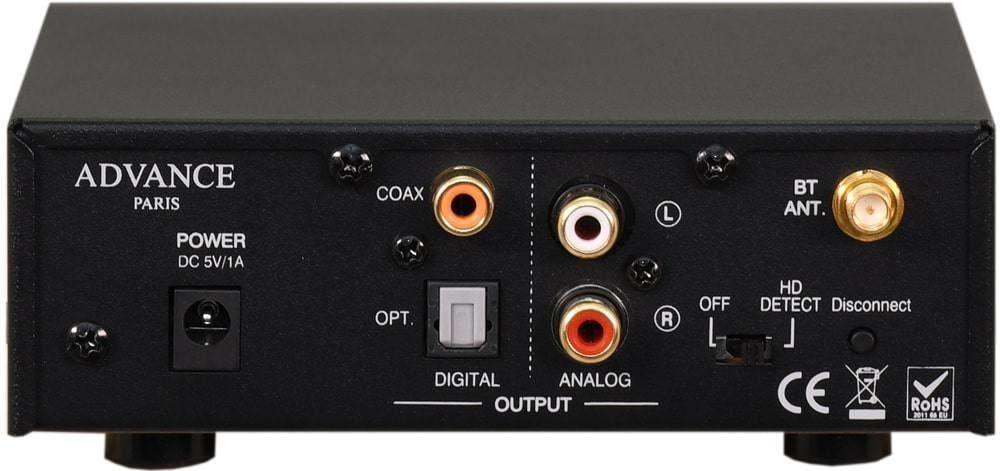 Bluetooth receiver with tube: Advance Paris WTX-TUBES