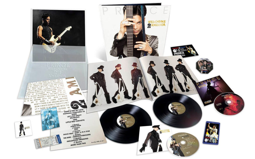 """Legacy Recordings will release """"Lost"""" Prince album «Welcome 2 America»"""