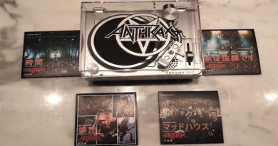 Anthrax to release 3-inch mini turntable for Record Store Day